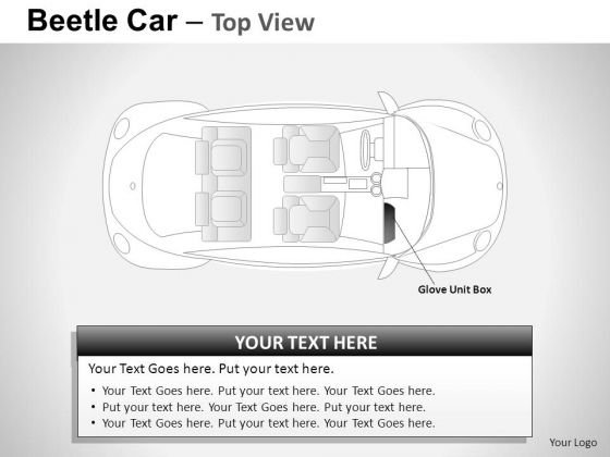 Motor Red Beetle Car PowerPoint Slides And Ppt Diagram Templates