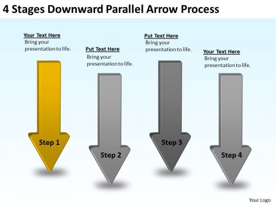 Moving Arrows PowerPoint Process Templates Backgrounds For Slides