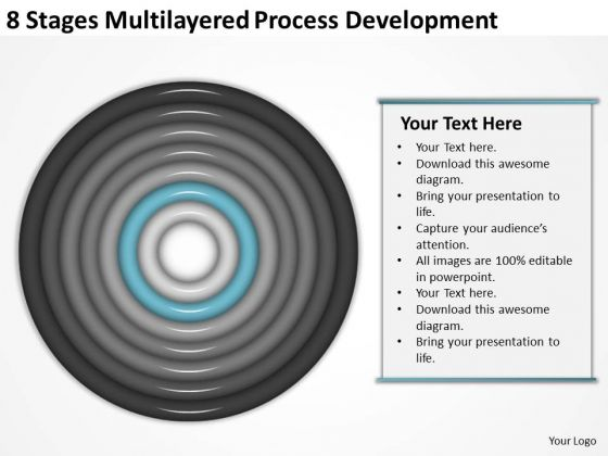 Multilayered Process Development Ppt How To Write Business Plan For Free PowerPoint Slides