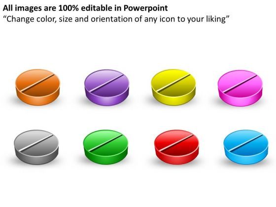 Multiple Medical Pills PowerPoint Slides And Ppt Diagram Templates