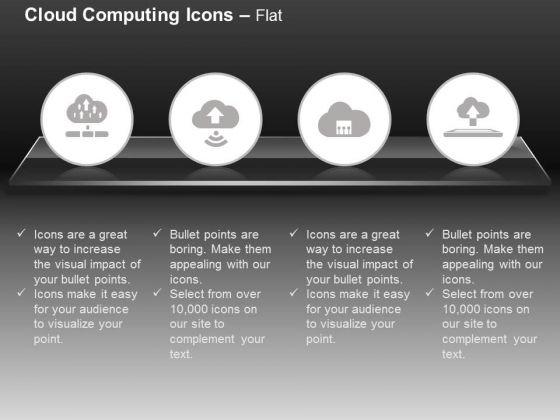 Multiple Uploads Wifi Sharing Cloud Services Ppt Slides Graphics
