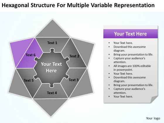 Multiple Variable Representation Ppt Basic Business Plan Template PowerPoint Templates