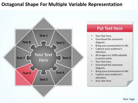 Multiple Variable Representation Ppt Building Business Plan Template PowerPoint Templates