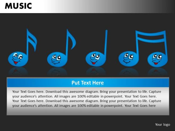 Music Classes PowerPoint Templates Editable Ppt Slides