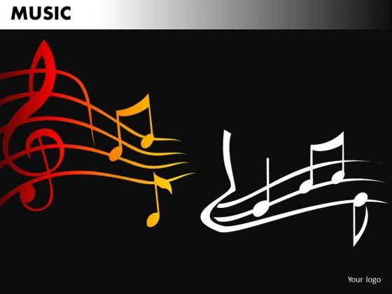 Music PowerPoint Background Slide Design