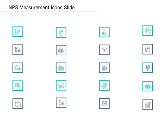 NPS Measurement Icons Slide Ppt Professional Design Inspiration PDF