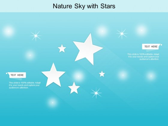 Nature Sky With Stars Ppt PowerPoint Presentation Icon Designs Download