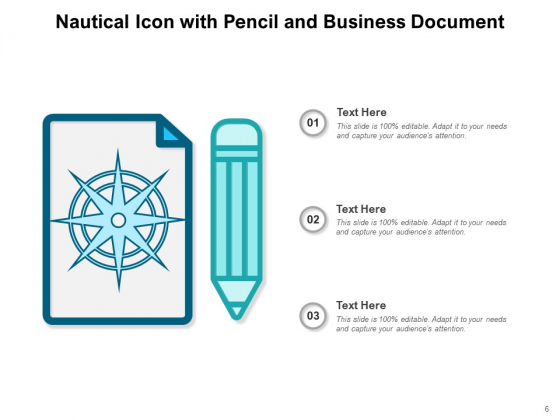 Nautical_Icon_Glowing_Stars_Business_Document_Ppt_PowerPoint_Presentation_Complete_Deck_Slide_6