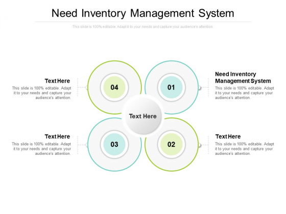 Need Inventory Management System Ppt PowerPoint Presentation Infographics Graphic Images Cpb