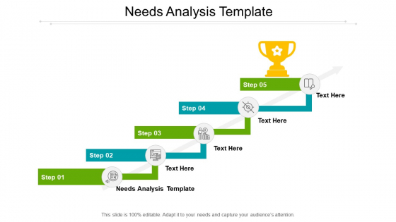 Needs Analysis Template Ppt PowerPoint Presentation Pictures Guide Cpb