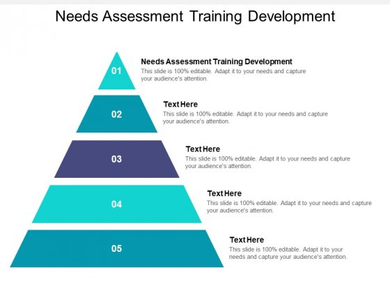 Needs Assessment Training Development Ppt PowerPoint Presentation Gallery Slides Cpb