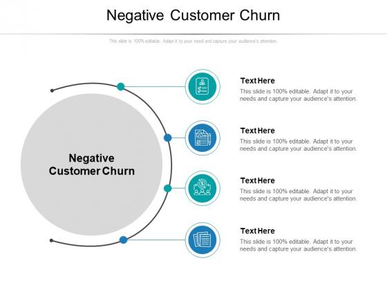 Negative Customer Churn Ppt PowerPoint Presentation Ideas Graphics Tutorials Cpb Pdf
