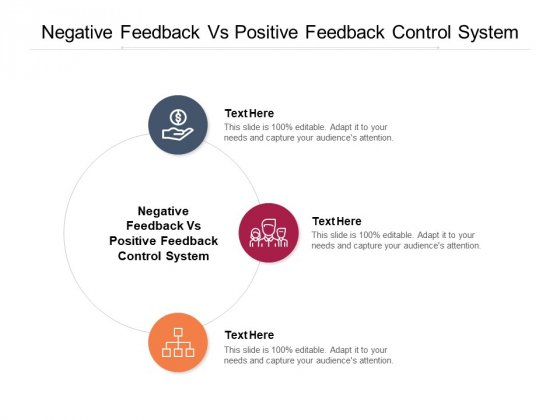 Negative Feedback Vs Positive Feedback Control System Ppt PowerPoint Presentation Inspiration Graphic Tips Cpb Pdf
