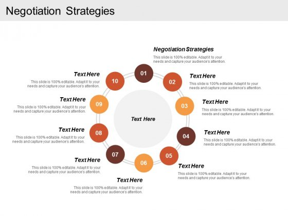 Negotiation Strategies Ppt Powerpoint Presentation Icon Outfit Cpb