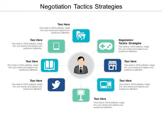 Negotiation Tactics Strategies Ppt PowerPoint Presentation Professional Microsoft Cpb