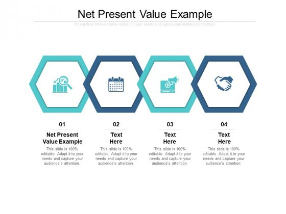 Net Present Value Example Ppt PowerPoint Presentation Outline Graphics Example Cpb