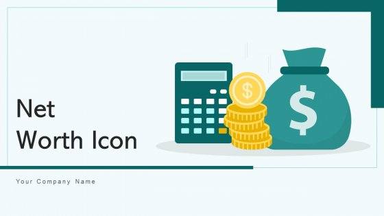 Net Worth Icon Illustrating Commercial Ppt PowerPoint Presentation Complete Deck With Slides