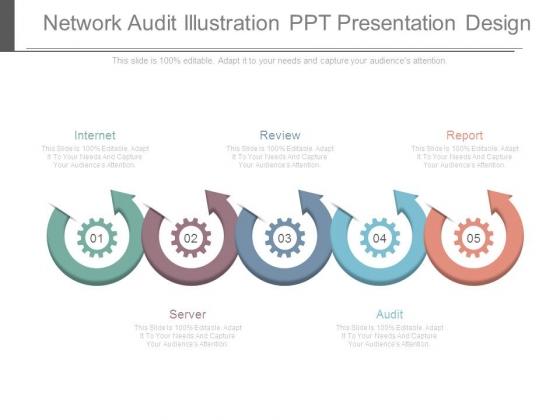 Network Audit Illustration Ppt Presentation Design