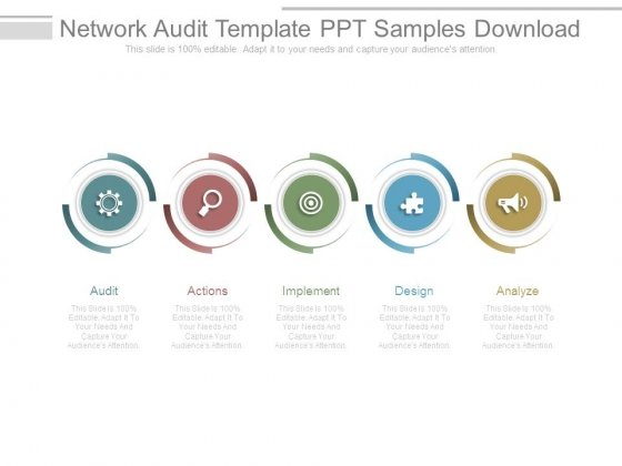 Network Audit Template Ppt Samples Download