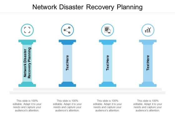 Network Disaster Recovery Planning Ppt PowerPoint Presentation Show Cpb