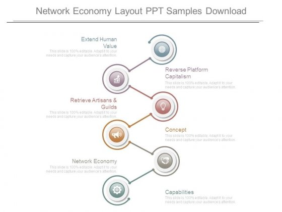 Network Economy Layout Ppt Samples Download