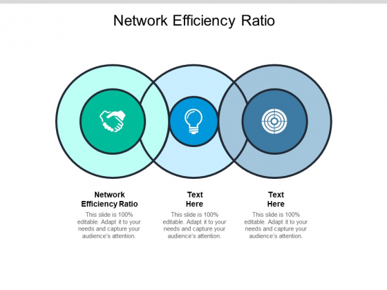 Network Efficiency Ratio Ppt PowerPoint Presentation Icon Infographics Cpb