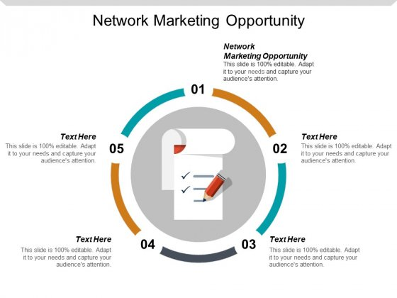 Network Marketing Opportunity Ppt PowerPoint Presentation Gallery Show Cpb