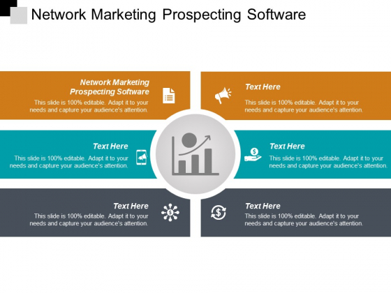 Network Marketing Prospecting Software Ppt PowerPoint Presentation Show Slides Cpb