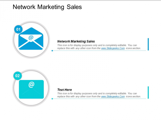 Network Marketing Sales Ppt PowerPoint Presentation File Images Cpb