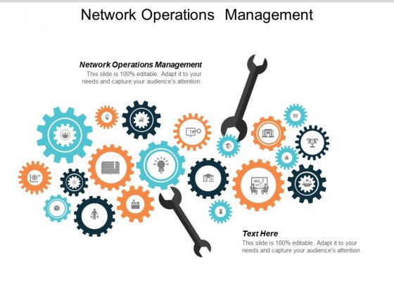 Network Operations Management Ppt PowerPoint Presentation Layouts Background Images Cpb