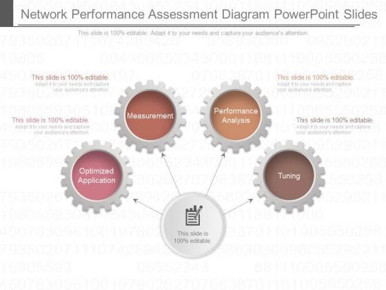 Network Performance Assessment Diagram Powerpoint Slides
