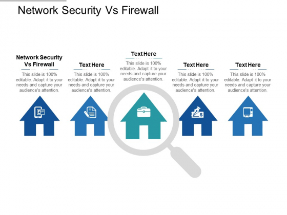 Network Security Vs Firewall Ppt PowerPoint Presentation Infographic Template Gridlines Cpb