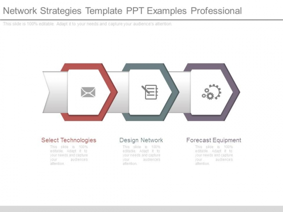 Network Strategies Template Ppt Examples Professional