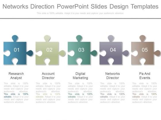 Networks Direction Powerpoint Slides Design Templates