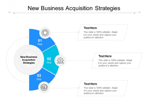 New Business Acquisition Strategies Ppt PowerPoint Presentation Ideas Tips Cpb