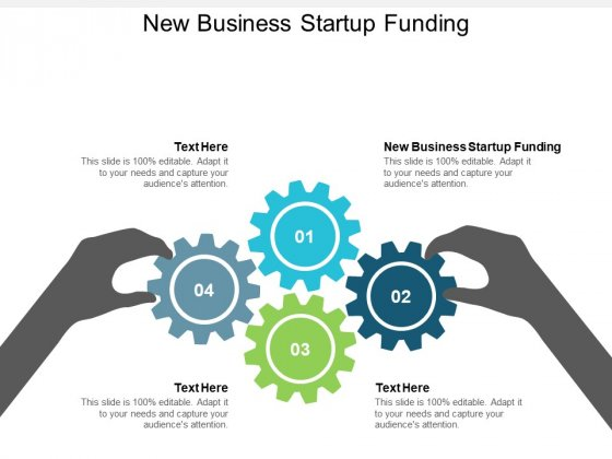 New Business Startup Funding Ppt PowerPoint Presentation Show Cpb
