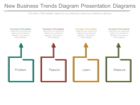 New Business Trends Diagram Presentation Diagrams
