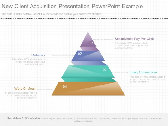New Client Acquisition Presentation Powerpoint Example