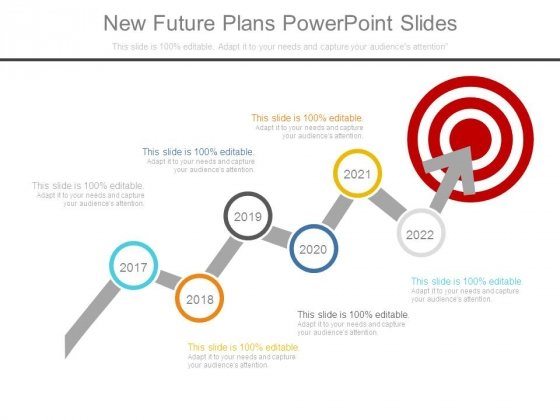 New Future Plans Powerpoint Slides