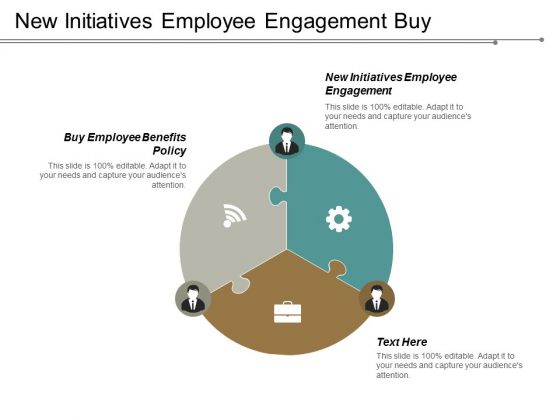 New Initiatives Employee Engagement Buy Employee Benefits Policy Ppt PowerPoint Presentation Portfolio Show