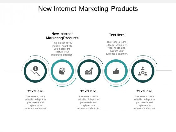 New Internet Marketing Products Ppt PowerPoint Presentation Gallery Icon Cpb