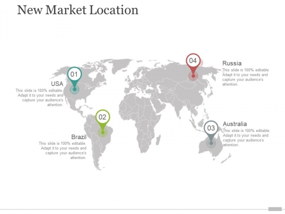New Market Location Ppt PowerPoint Presentation Infographics Gallery
