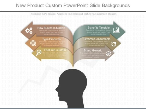 New Product Custom Powerpoint Slide Backgrounds