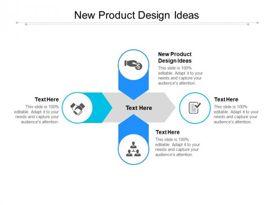 New Product Design Ideas Ppt PowerPoint Presentation Pictures Example Cpb