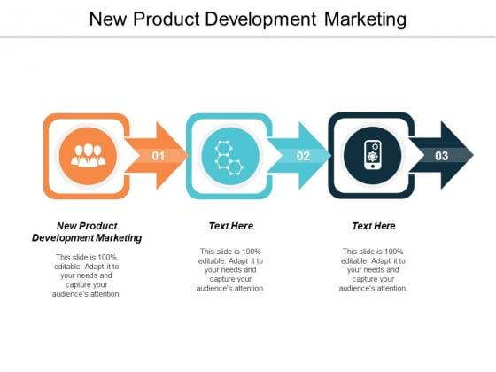 New Product Development Marketing Ppt Powerpoint Presentation Styles Topics Cpb