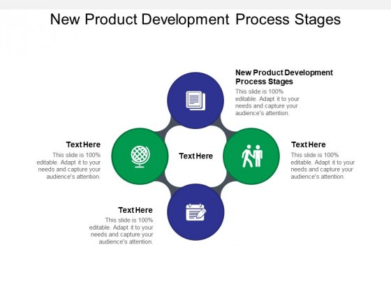 New Product Development Process Stages Ppt PowerPoint Presentation Portfolio Graphics Pictures Cpb