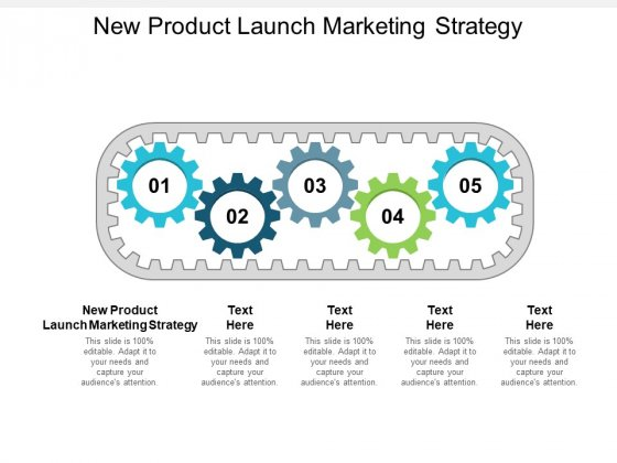 New Product Launch Marketing Strategy Ppt PowerPoint Presentation Professional Deck Cpb