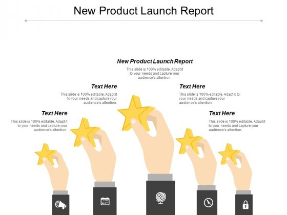 New Product Launch Report Ppt PowerPoint Presentation Styles Maker Cpb