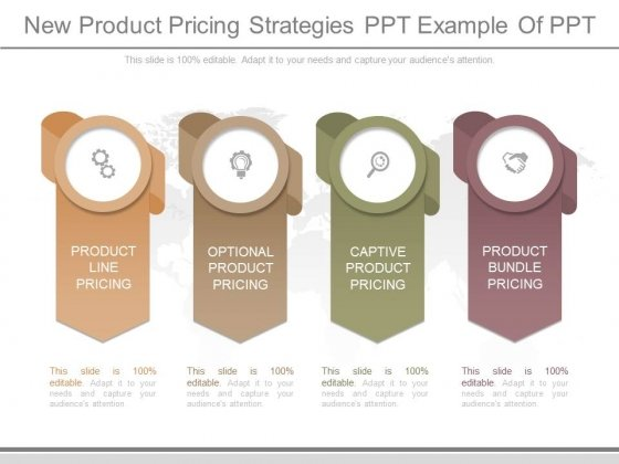 New Product Pricing Strategies Ppt Example Of Ppt
