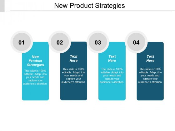 New Product Strategies Ppt PowerPoint Presentation Gallery Outfit Cpb